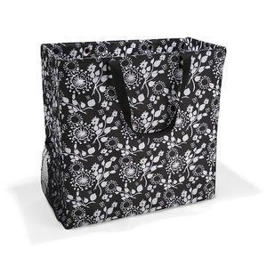 NEW Black Floral Thirty One ROOM FOR TWO Utility